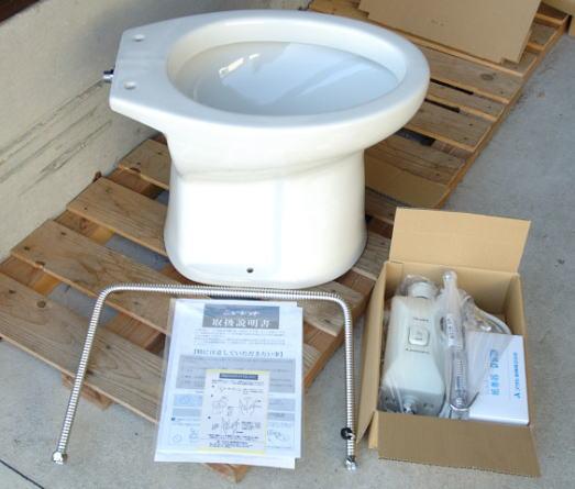 ニューレットアサヒ 簡易水洗便器商品イメージ