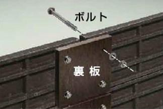 板材と杭を簡易的に固定したい場合などに最適です