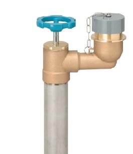 不等式排水弁 BD   止水栓 M3
