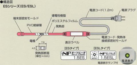 東京特殊電線株式会社 NFオートヒーター